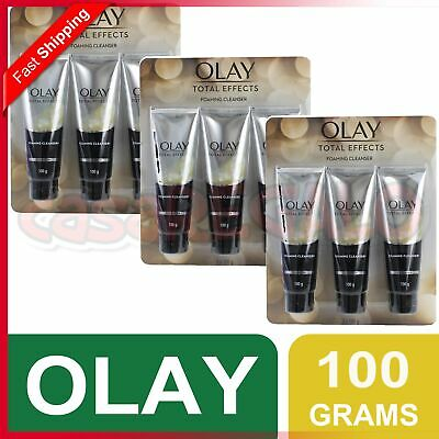AU179.95 • Buy OLAY TOTAL EFFECTS 3x100g FOAMING CLEANER