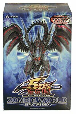 AU107.24 • Buy Yu Gi Oh 2008 Yugioh 5Ds Zombie World Structure Deck W Red Eyes Darkness Zombie