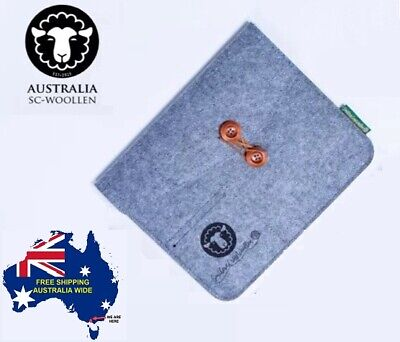 AU8.99 • Buy Wool Felt Sleeve Bag Carrying Tablets  9.7 Inch IPad Case Cover - FREE Shipping
