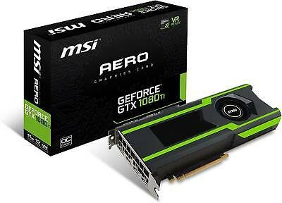 $ CDN1330.73 • Buy MSI GeForce GTX 1080 Ti Aero OC 11GB Professional Graphic Card GDDR5X