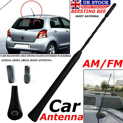 Universal Car Beesting Bee Sting Radio Stereo Flexible Aerial Arial Mast Antenna • 2.89£