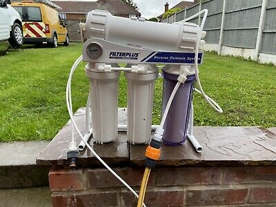 600 Gpd Ro System Reveres Osmosis Window Cleaning • 200£
