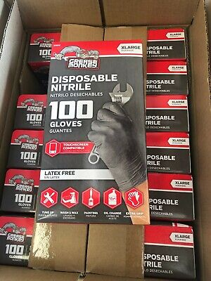 $ CDN40.21 • Buy Grease Monkey Gorilla Grip Nitrile Gloves 6mil - Extra Large XL 100 Pack