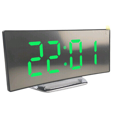 LED Display Alarm Clock Digital Projection Clock With 12/24 Hours Clock-03 • 10.26£