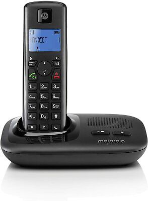 Motorola T412+ Digital Cordless Telephone With Answering Machine, Single & Twin • 25.99£