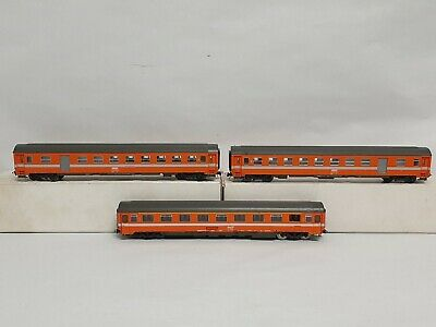 AU55.38 • Buy 3x ROCO SNCF 1st And 4223B 2nd Class Passenger Cars (2) HO Scale EXC COND