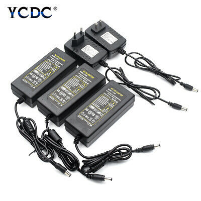 $ CDN7.33 • Buy Power Supply Adapter AC/DC 5V 12V 24V 1-8A  Transformer Charger For LED Light