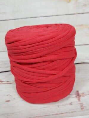 AU17.95 • Buy T Shirt Yarn - Good Quality Recycled - Large Rolls - 600 To 700 Gram - AU STOCK