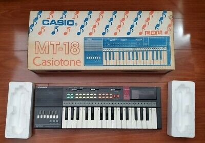 $40 • Buy Casio MT-18 CasioTone Electronic Keyboard Vintage 80's Synth Kids