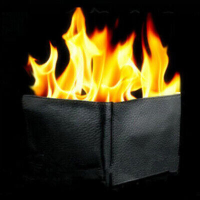 £7.78 • Buy Magic Trick Flame Fire Wallet Big Flame Magician Trick Wallet Stage Street NYFBE