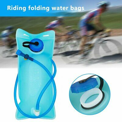 AU9.77 • Buy 2L Water Backpack Bladder Bag Hydration System Pack Hiking Cycling PQ