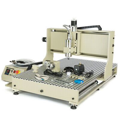 $1965 • Buy USB 3/4Axis CNC 3040/6040/6090 Router Engraver Engraving Machine Mill / Drill US