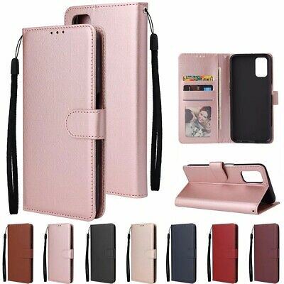 AU7.85 • Buy Magnetic Leather Card Slots Wallet Stand Flip Case Cover For Various OPPO Model