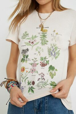 AU30.66 • Buy Urban Outfitters Short Sleeve Herb T Shirt XS NEW