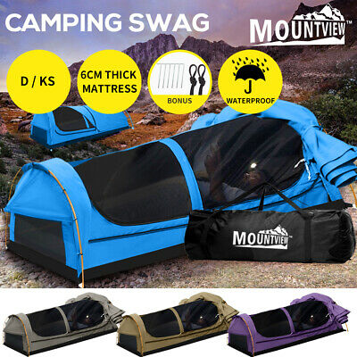 AU234.99 • Buy Mountview Swag Camping Swags Canvas Double King Single Hiking Tent Dome Mattress