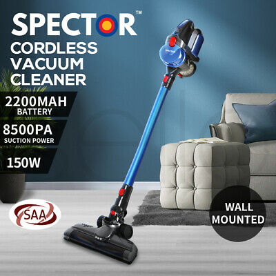 AU109.99 • Buy Spector 150W Handheld Vacuum Cleaner Cordless Stick Vac Bagless LED Rechargable