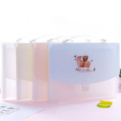PP Material Organ Bag Multi-Function Label File Holder Bill Holder BT • 6.58£