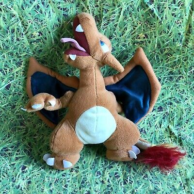 """£13.99 • Buy Vintage Official Pokemon Play By Play 10"""" Charizard Plush Toy Nintendo Rare"""