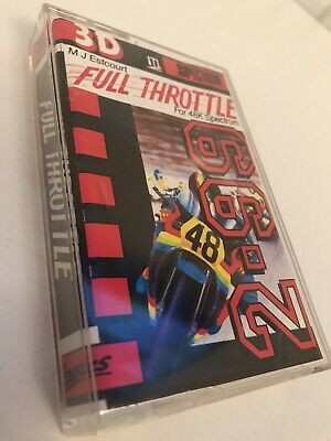 Full Throttle (Micromega): Sinclair ZX Spectrum 48K, Exceptional Condition • 1.62£