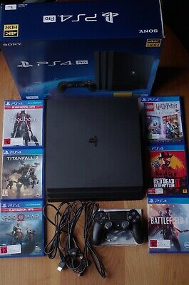 AU580 • Buy Ps4 Pro 1tb, Near New, With Six Games