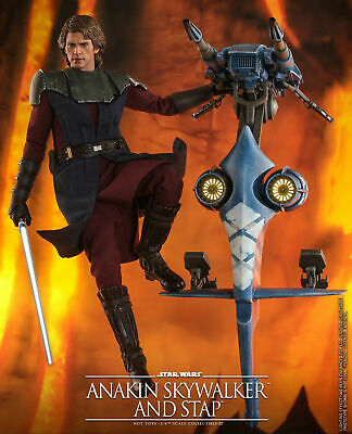 $ CDN604.59 • Buy  Hot Toys TMS020 1/6 Anakin Skywalker & STAP  The Clone Wars Action Figure Toy