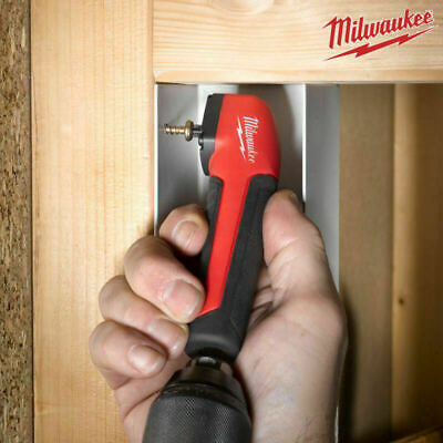 £34.65 • Buy Milwaukee Right Angle Screwdriver Drill Bit Holder Hex Angled Driver Heavy Duty