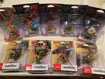 AU299 • Buy Legend Of Zelda Amiibo Bundle NEW UNOPENED 7 X Amiibo—read Description