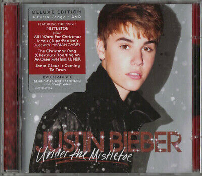 AU10 • Buy Under The Mistletoe [CD/DVD] [Deluxe Edition] By Justin Bieber (BRAND NEW)