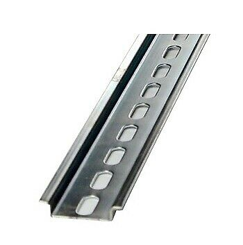 £1.84 • Buy 35MM TOP HAT DIN RAIL 100MM SLOTTED CUT TO LENGTH 7.5mm Depth