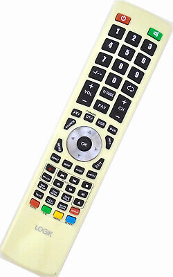 Genuine Logik Full HD LED TV Remote For 22'' L22FEDW12 TV With DVD Player • 8.99£