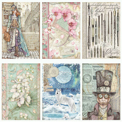 £2.89 • Buy Stamperia Collection C - Decoupage Rice Paper A4 Sheet -  INCLUDES NEW FOR 2021
