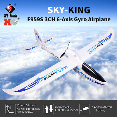 £50.25 • Buy WLtoys F959S 2.4G 3CH 6-axis RC Airplane Aircraft Fixed Wing Outdoor RTF Toys UK