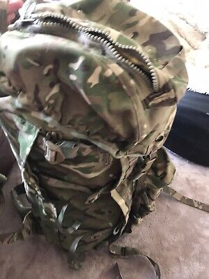 Army Infantry Bergen Rucksack MTP  Camo With Side Pouches & Yoke • 32£
