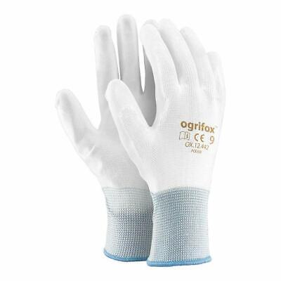 £7.99 • Buy 12 Pairs Of Polyester Gloves Mounting Gloves Protective Gloves Work Gloves With