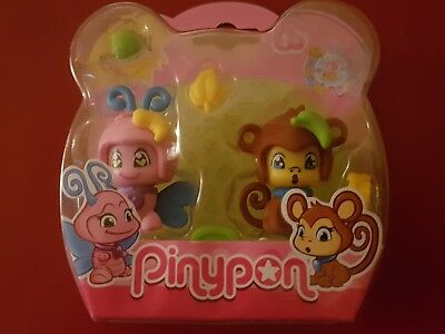 £17.99 • Buy Pinypon Blister Figures Butterfly  And Monkey