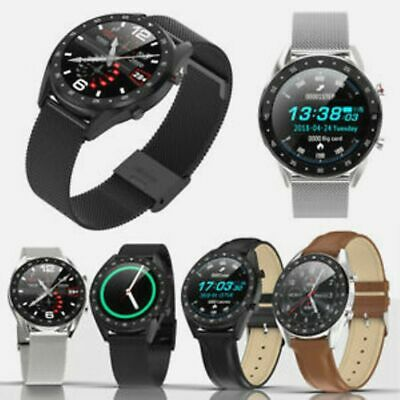AU42.56 • Buy Unisex G7 Smartwatch Smart Watch ECG Android IOS Phone 42mm Metal Case Touch Scr
