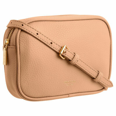 AU109 • Buy NWT Oroton Soft Leather Zip Top Belt / Crossbody Bag RRP $229