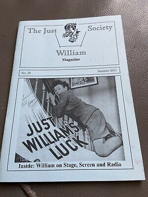 Just William Society Magazine - Issue 28 - Richmal Crompton • 5£