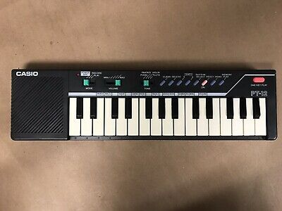 $29.99 • Buy Vintage Casio PT-12 Mini Keyboard Tested Works (missing Battery Cover)