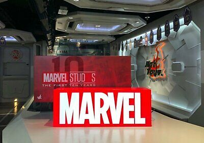 $ CDN227.90 • Buy Hot Toys Marvel Studios 10th Anniversary USB Light Box
