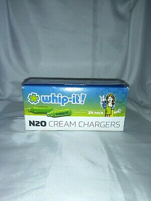 $ CDN28.12 • Buy Whip-it N20 Cream Chargers -24ct Pack- FREE SHIPPING!!
