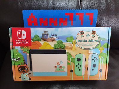 $ CDN572.07 • Buy Nintendo Switch Animal Crossing New Horizons Special Edition Console - Brand New