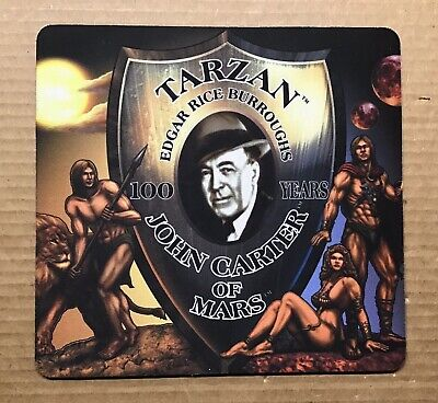 $9.95 • Buy Edgar Rice Burroughs Tarzan /John Carter Of Mars Mouse Pad