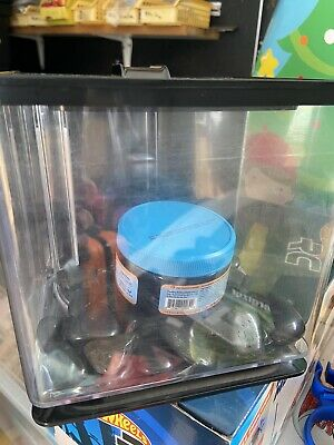 AU0.99 • Buy Small Fish Tank With Pebbles And Food