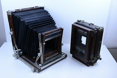 £1785.71 • Buy Deardorff 8x10 View Camera (V8) With 8x10 And 4x5 Backs, Front And Back Swings