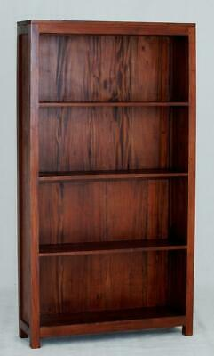 AU602 • Buy Light Pecan Amsterdam Bookcase Wide