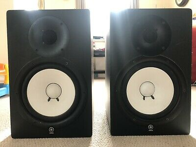 Yamaha HS80M Active Studio Monitor PAIR With Insulation Pads • 425£