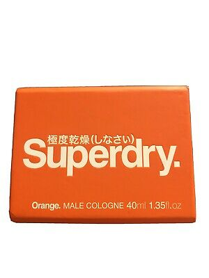 Superdry Orange Male Cologne 40ml New Boxed • 5.29£