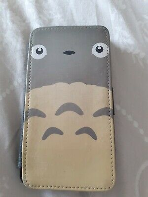 Cute Totoro  Flip Leather Phone Case For  Samsung J3 • 5£