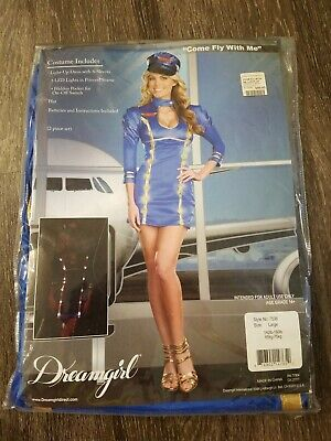 $10.99 • Buy MM Adult Come Fly With Me  Halloween Costume Size L